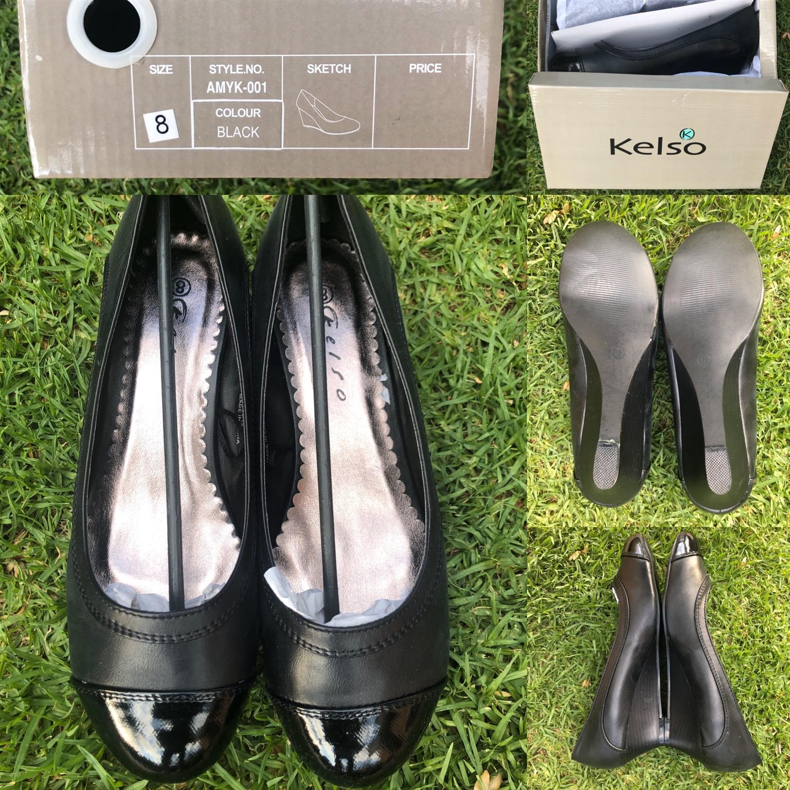 Kelso Ladies Smart Shoes - Size 8 only