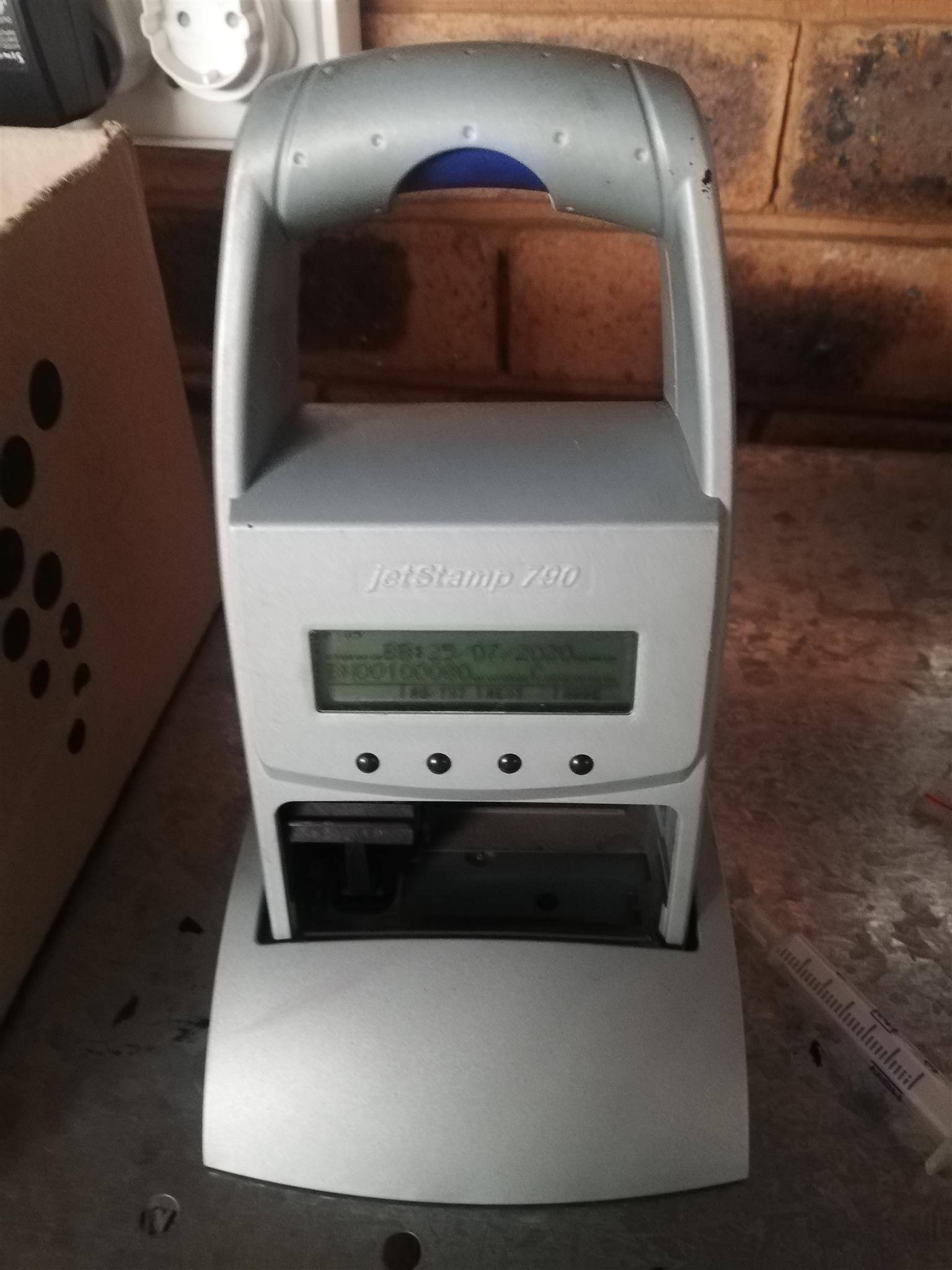 Hand held printer