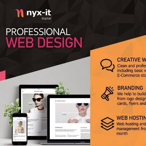Professional Web Design for Under R799 - FREE Demo Included