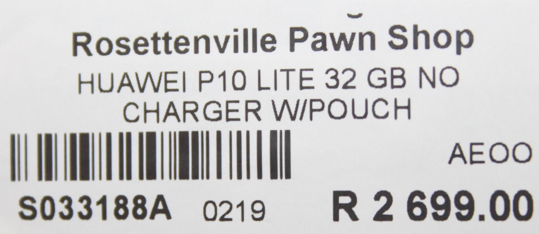 Huawei p10 S033188a #Rosettenvillepawnshop