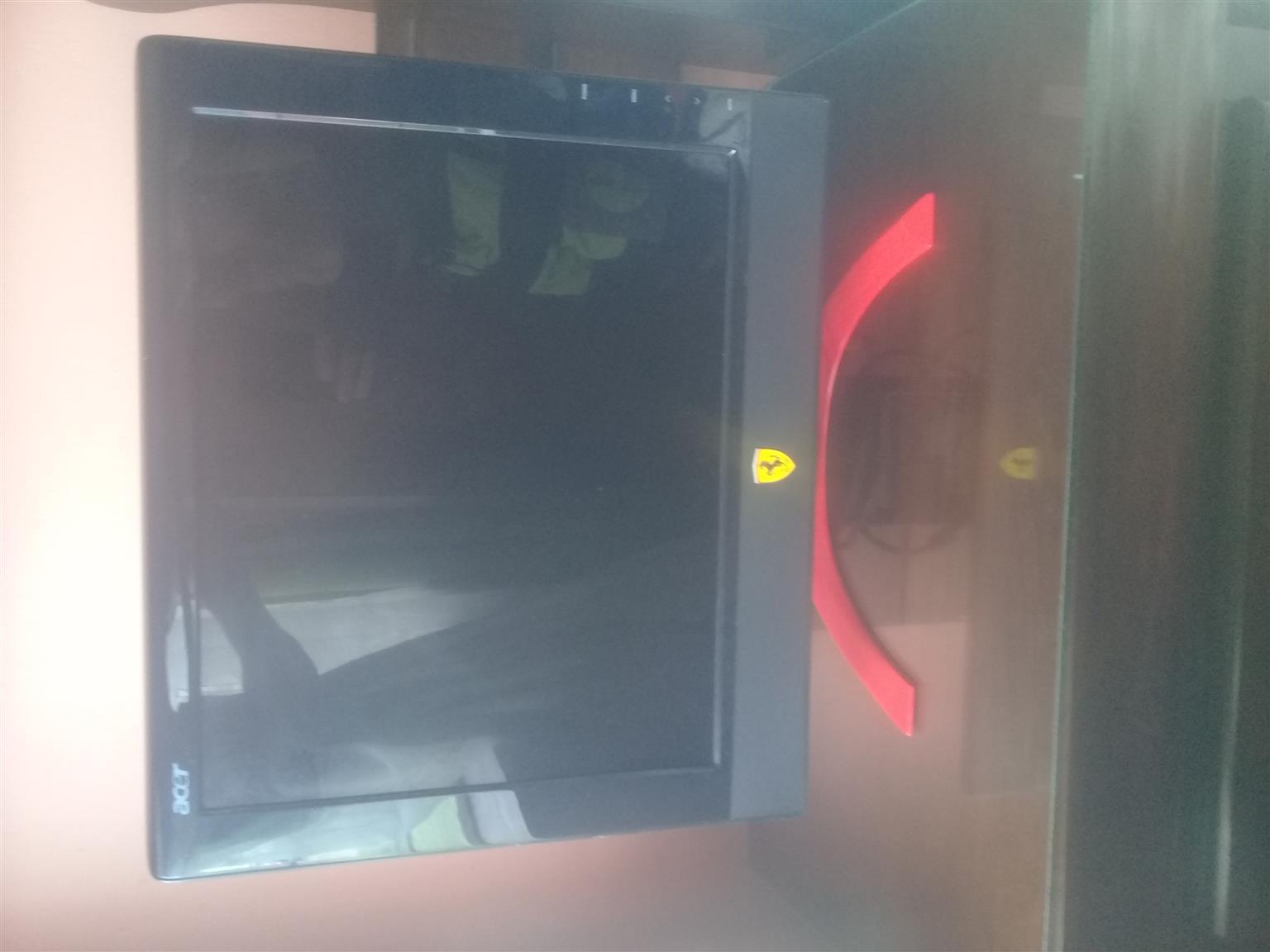 Ferrari PC monitor
