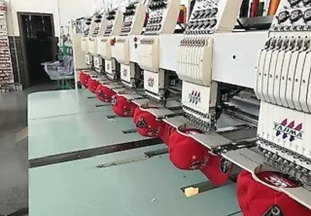 Tajima TMAR-K0908C 8 Head embroidery machine (2016)