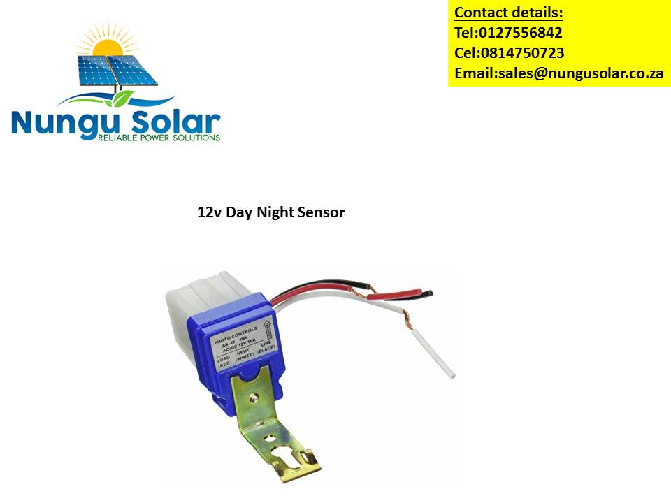 12V Day Night Sensor Day Night Switch Wiring Diagram V on