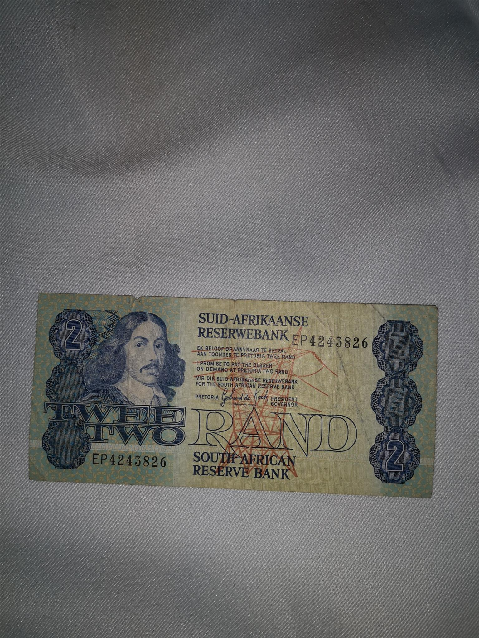 Sell old notes