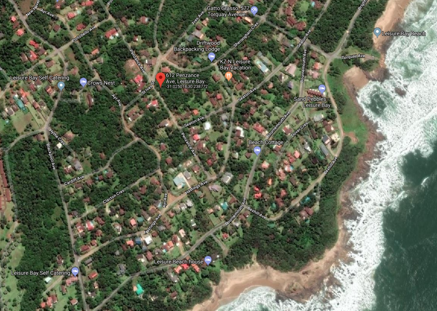 1357 m2 Vacant Land for Sale in Leisure Bay, Port Edward, KZN
