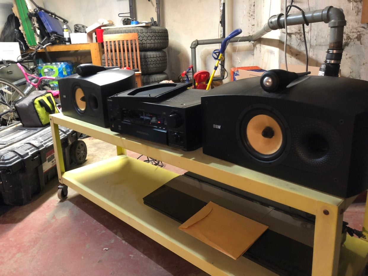 bowers and wilkins Nautilus HTM2 center.