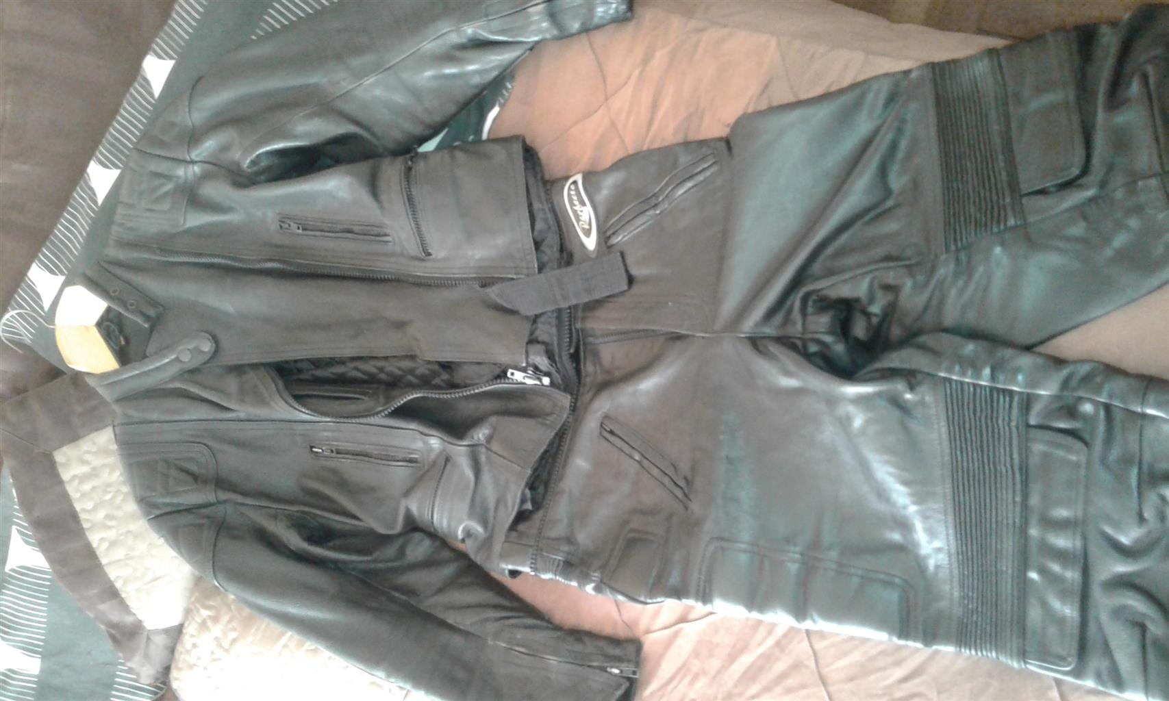 ladies leather jacket and pants and xkulcha biker jeans