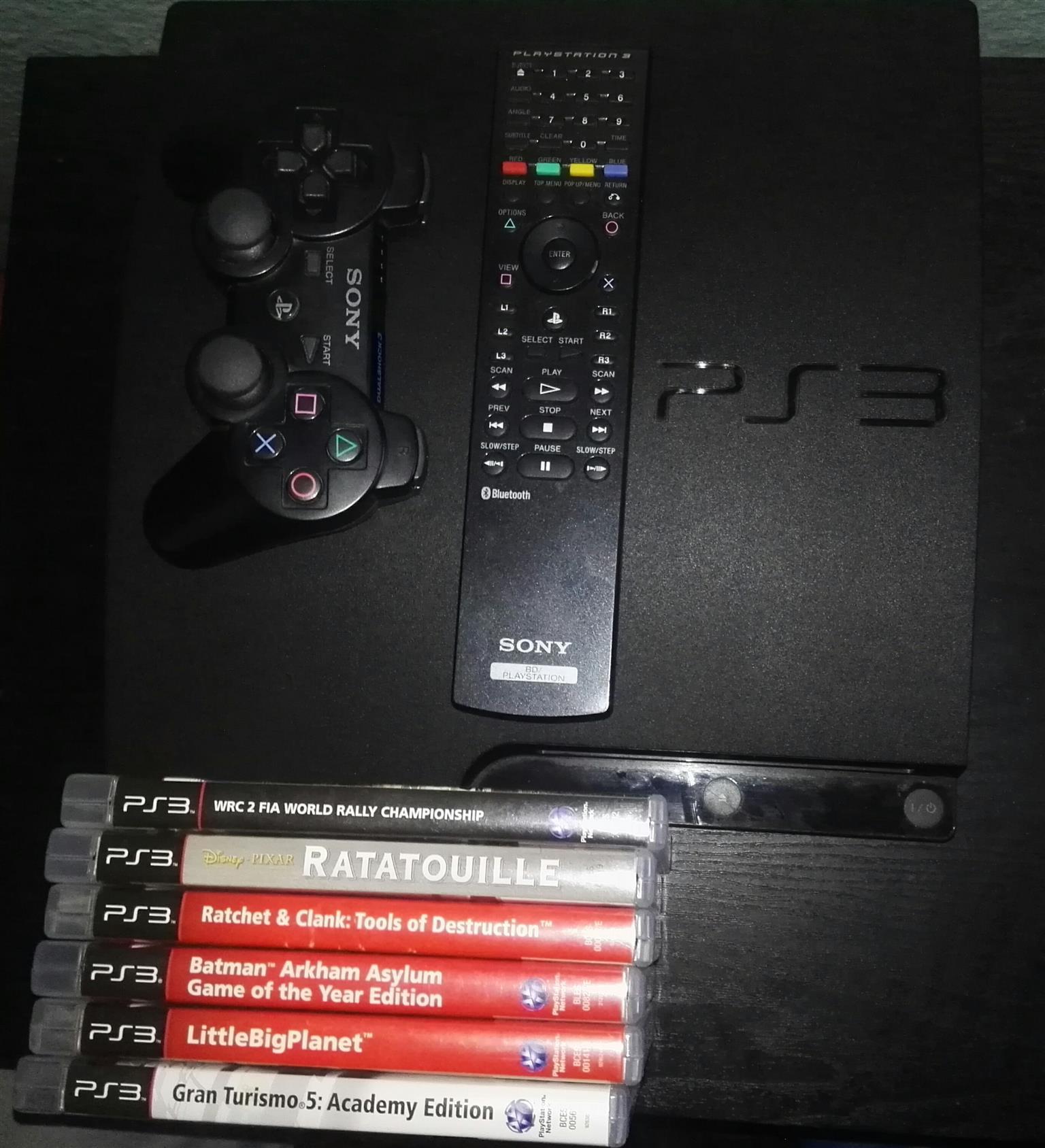 320GB PS3 Slim