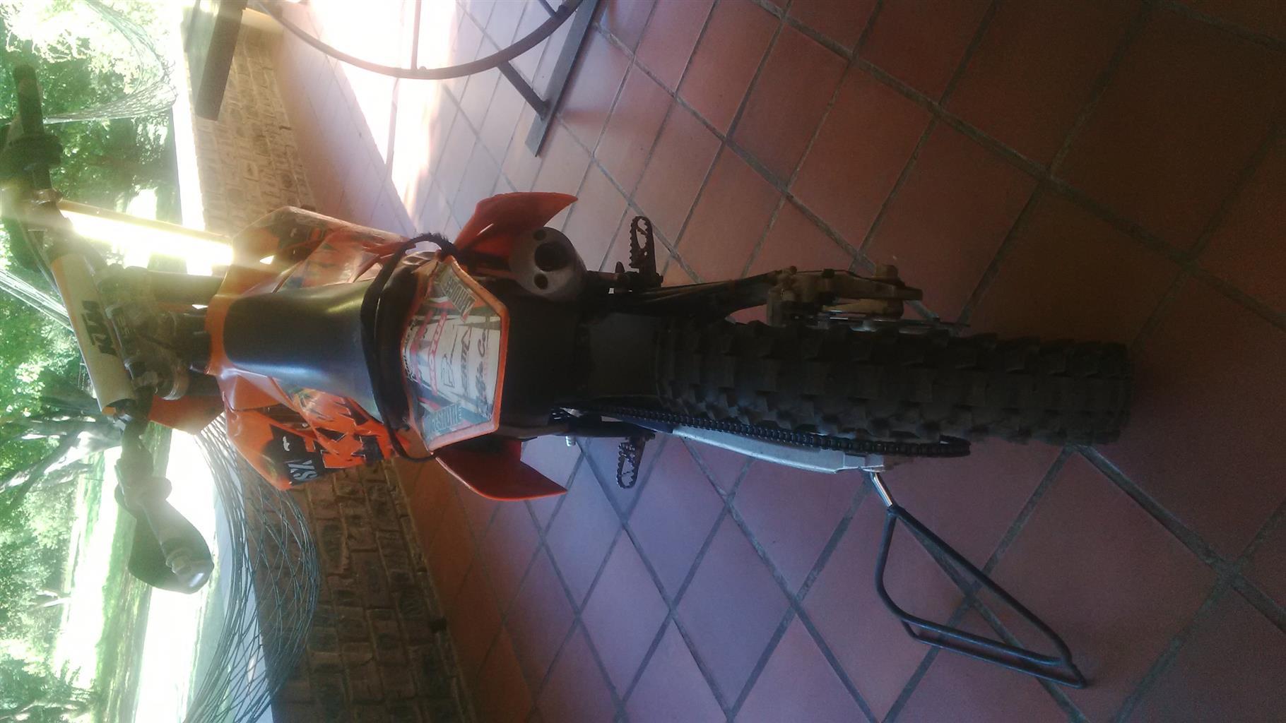 2015 KTM 200 XC