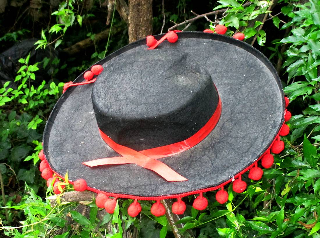 Spanish dress/party/stage hat