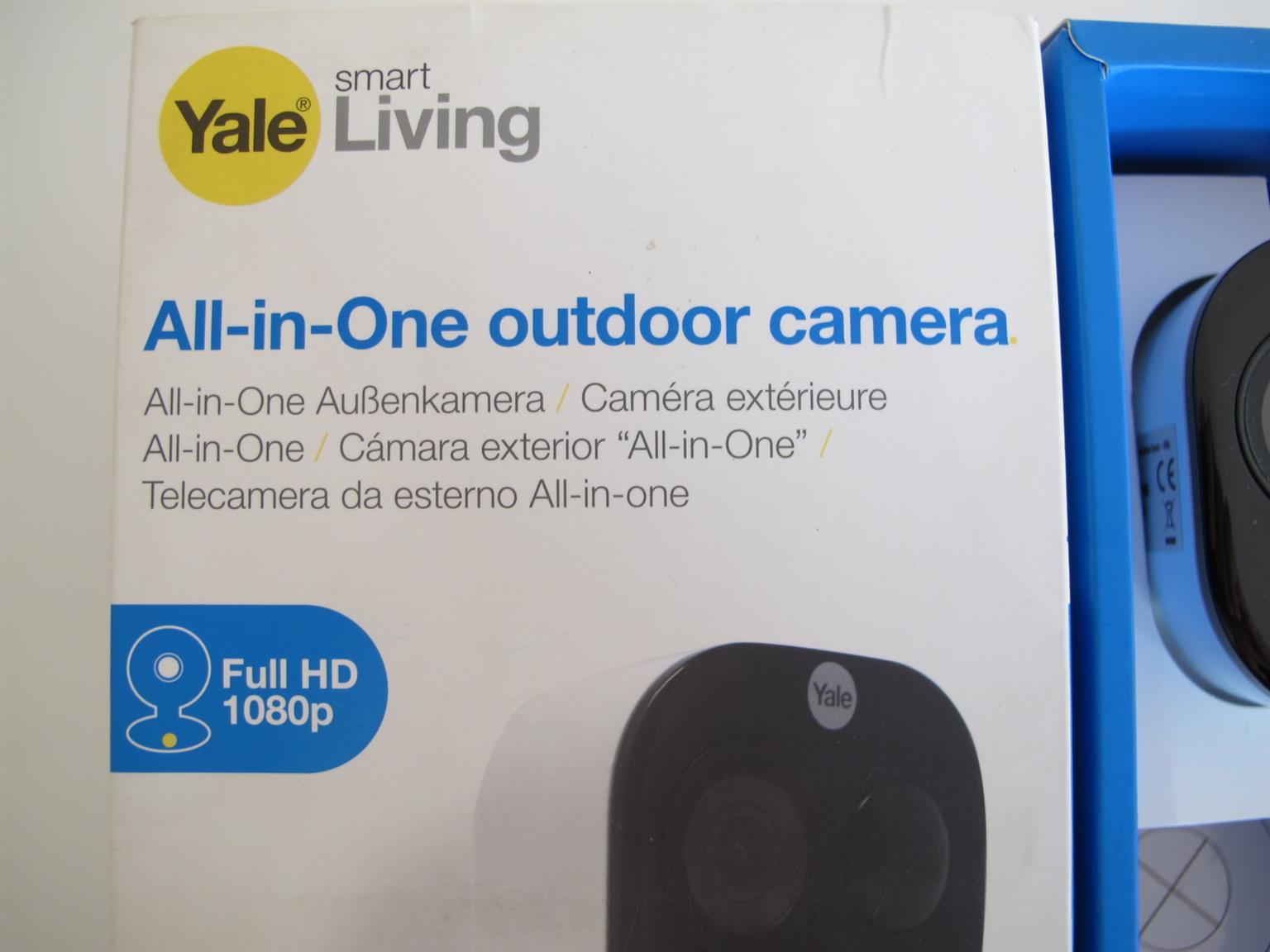 Yale Smart Living All In One Outdoor Security Camera UNUSED