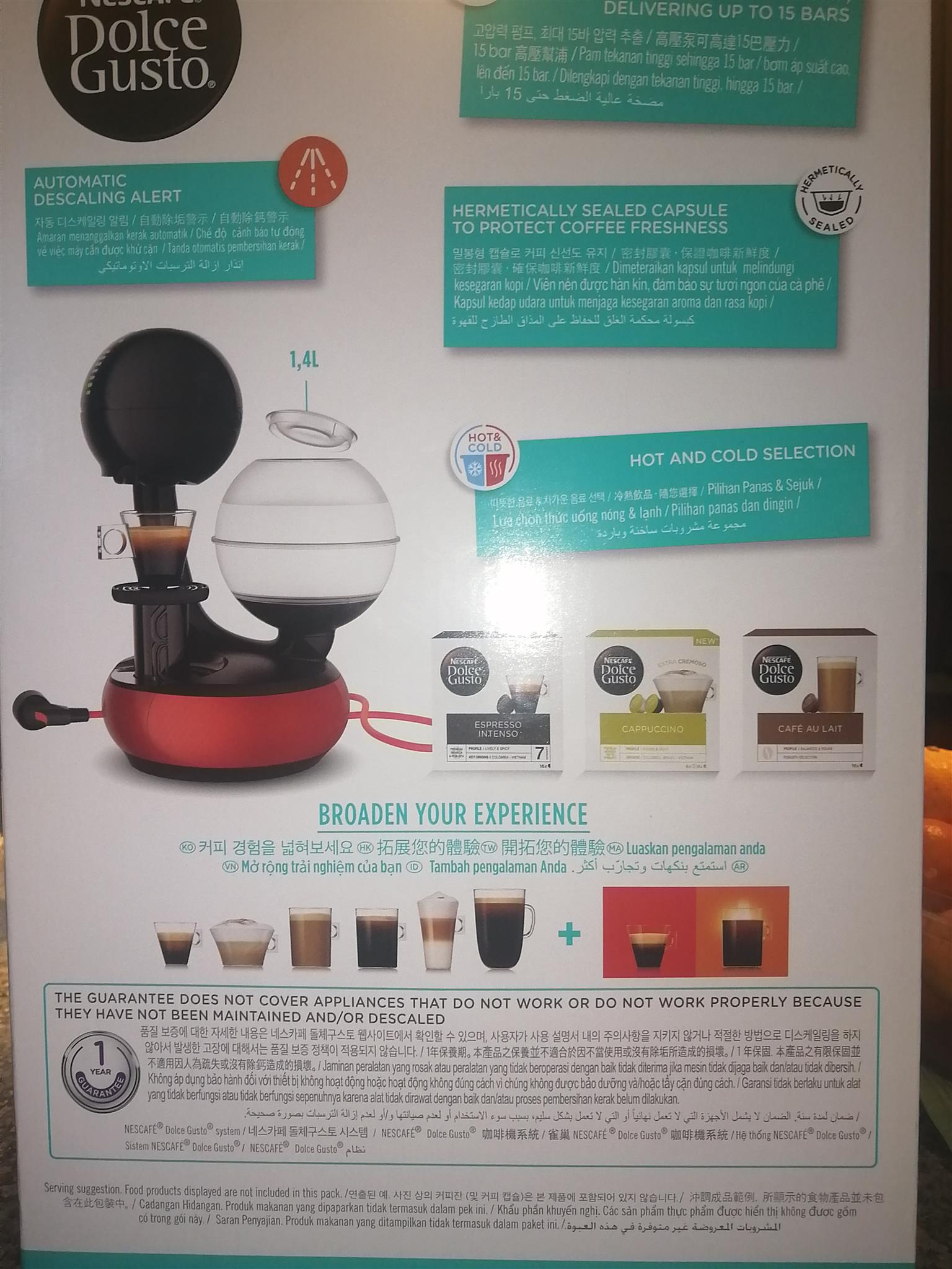 BRAND NEW!! NEVER BEEN USED!!Nescafe Dolce Gusto Esperta- R1400