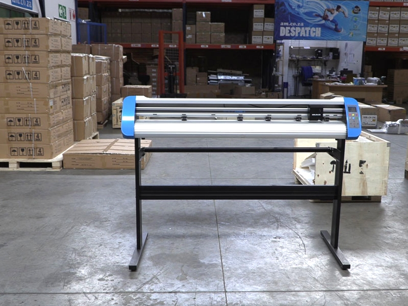V3-747B V-Smart Contour Cutting Vinyl Cutter 740mm Working Area, Stand & Collection Basket