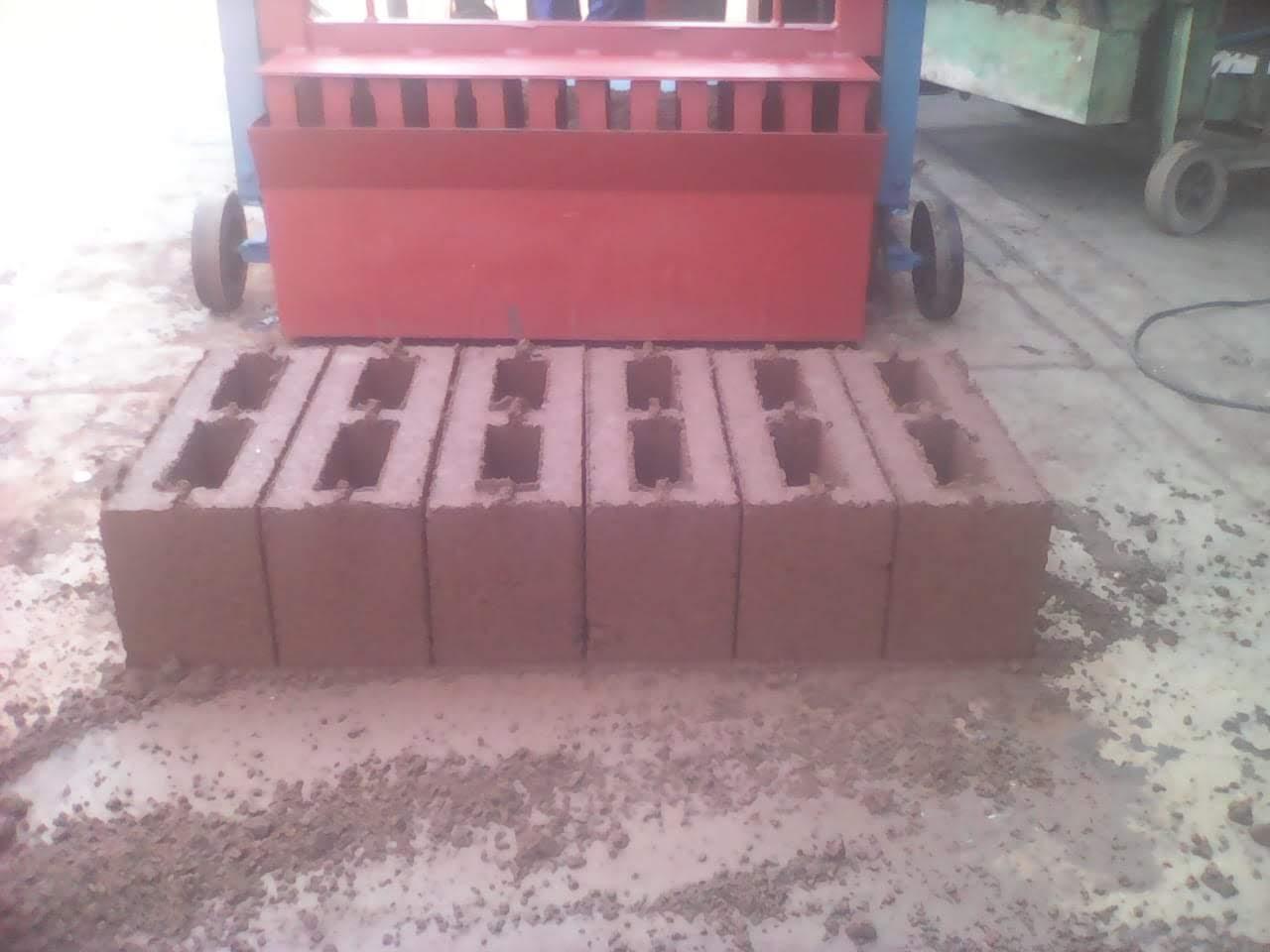 M140 Hollow Block Brick Machine