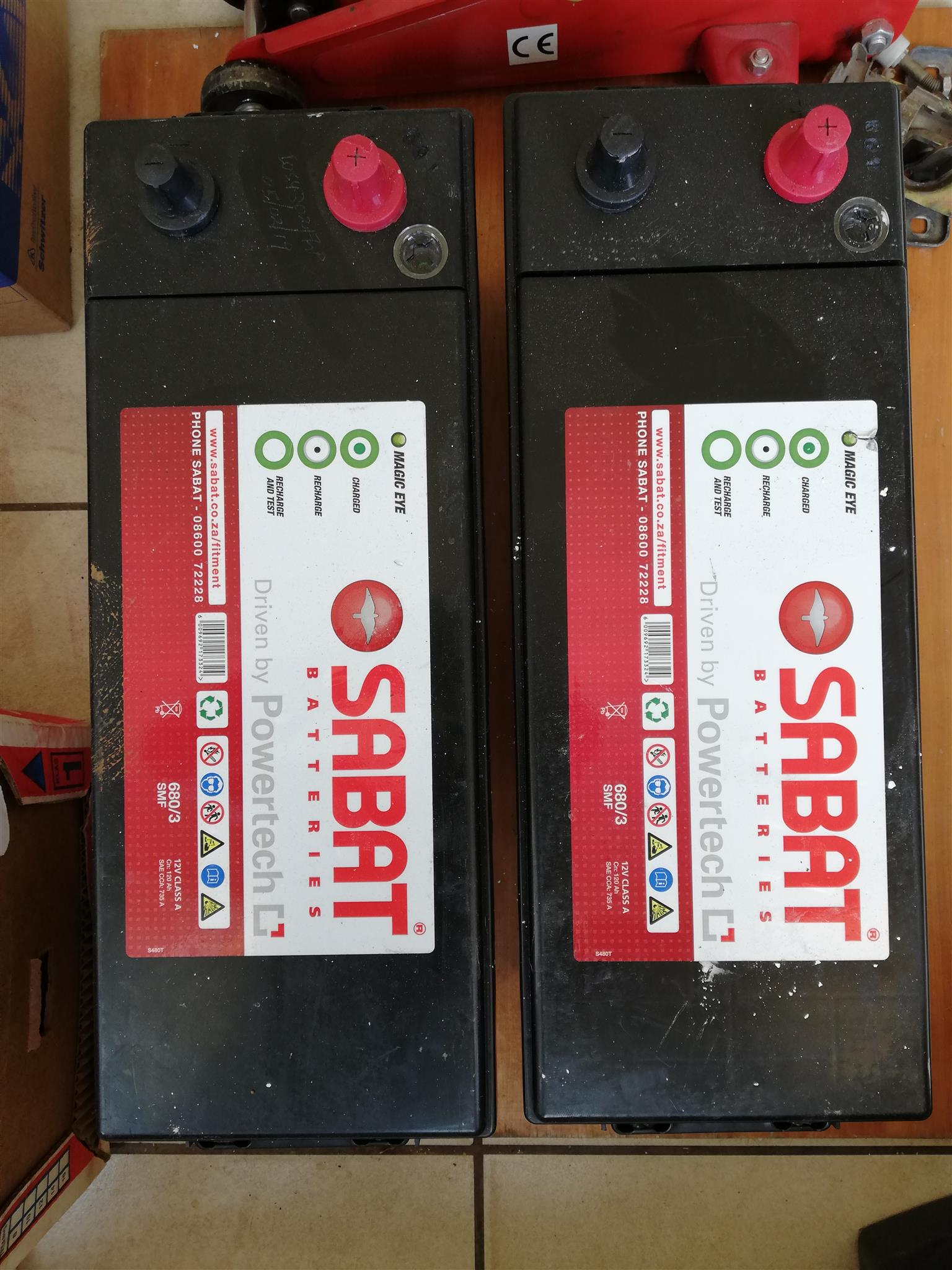Truck batteries for sale