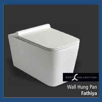 Fathiya Wall Hung Pan
