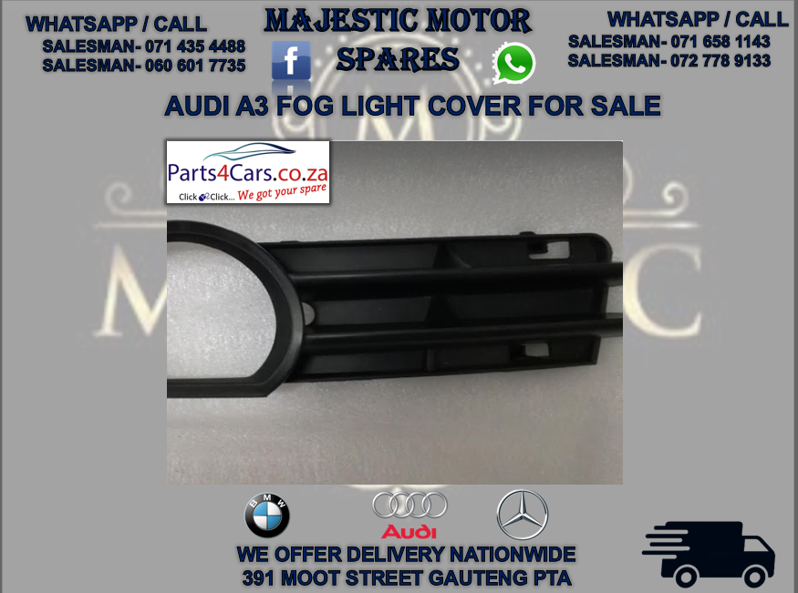 Audi A3 fog light cover for sale