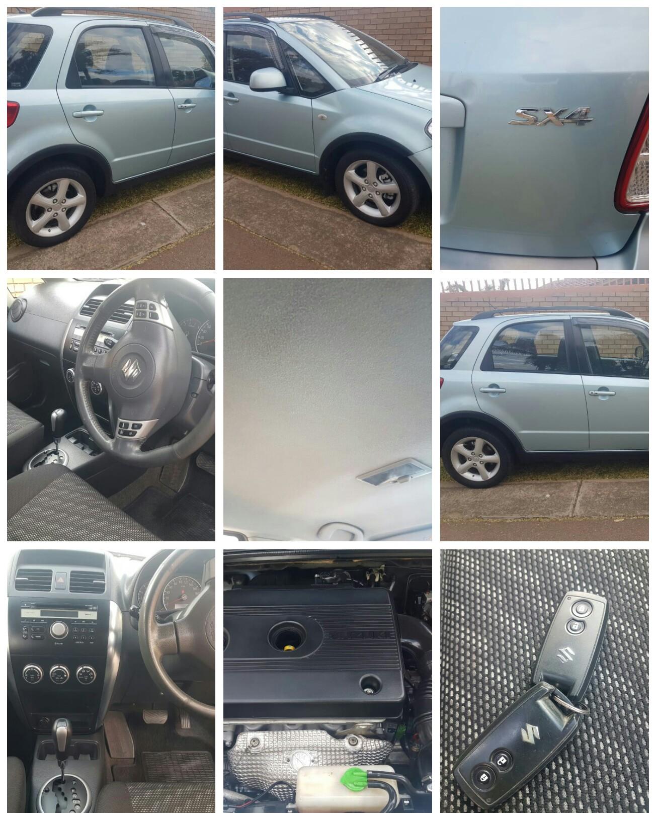 2008 Suzuki SX4 2.0 automatic