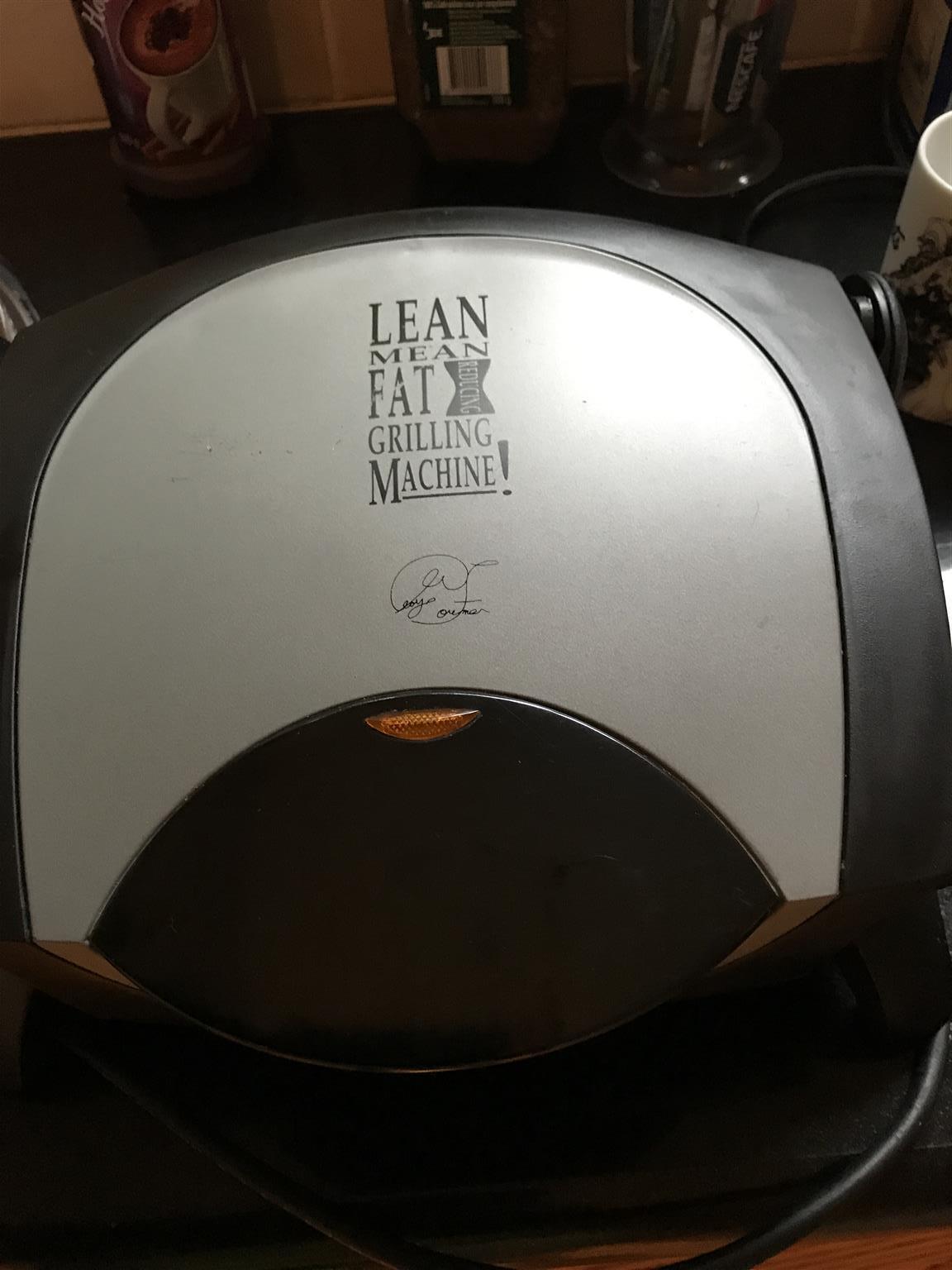 George Foreman griller
