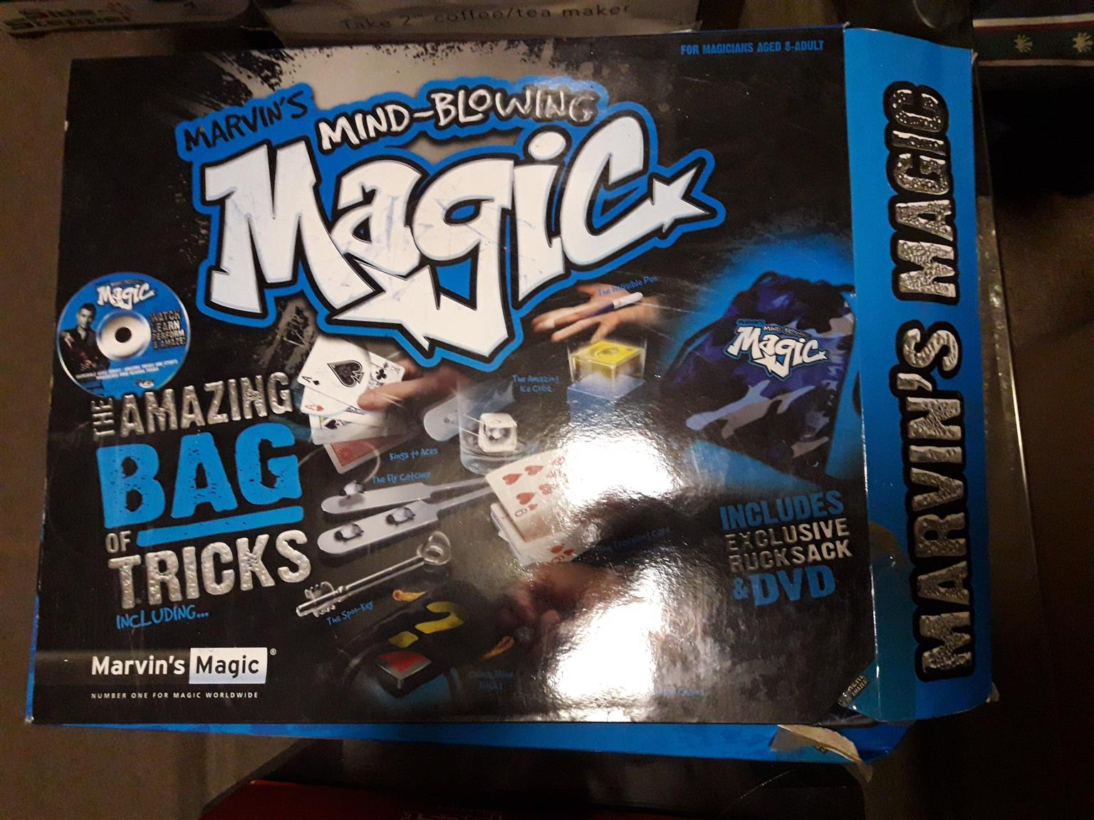 Marvin's Mind Blowing Magic – The Amazing Bag of Tricks