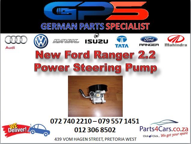 New Ford Ranger 2.2 Power Steering Pump for Sale