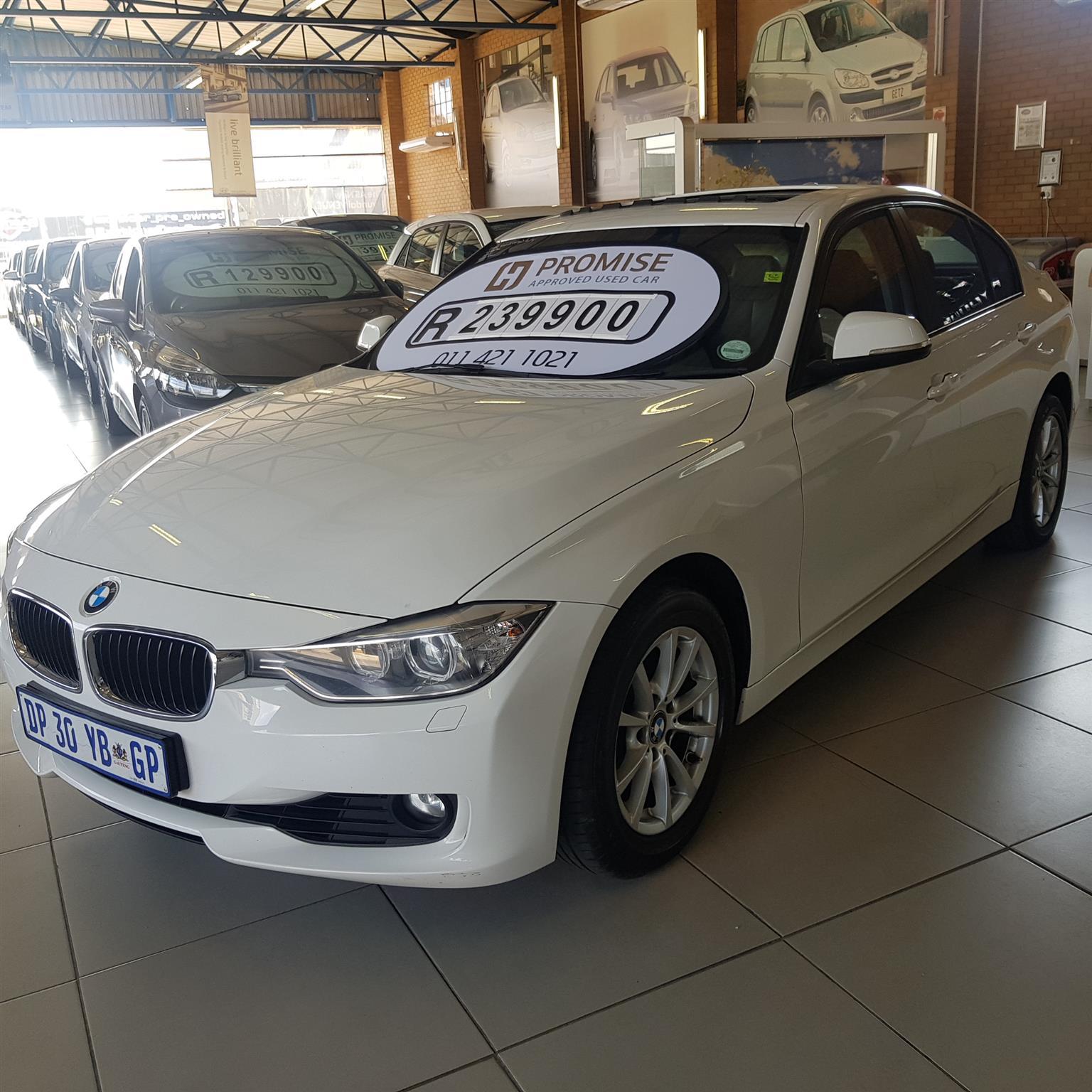 2015 BMW 3 Series 320i Exclusive steptronic