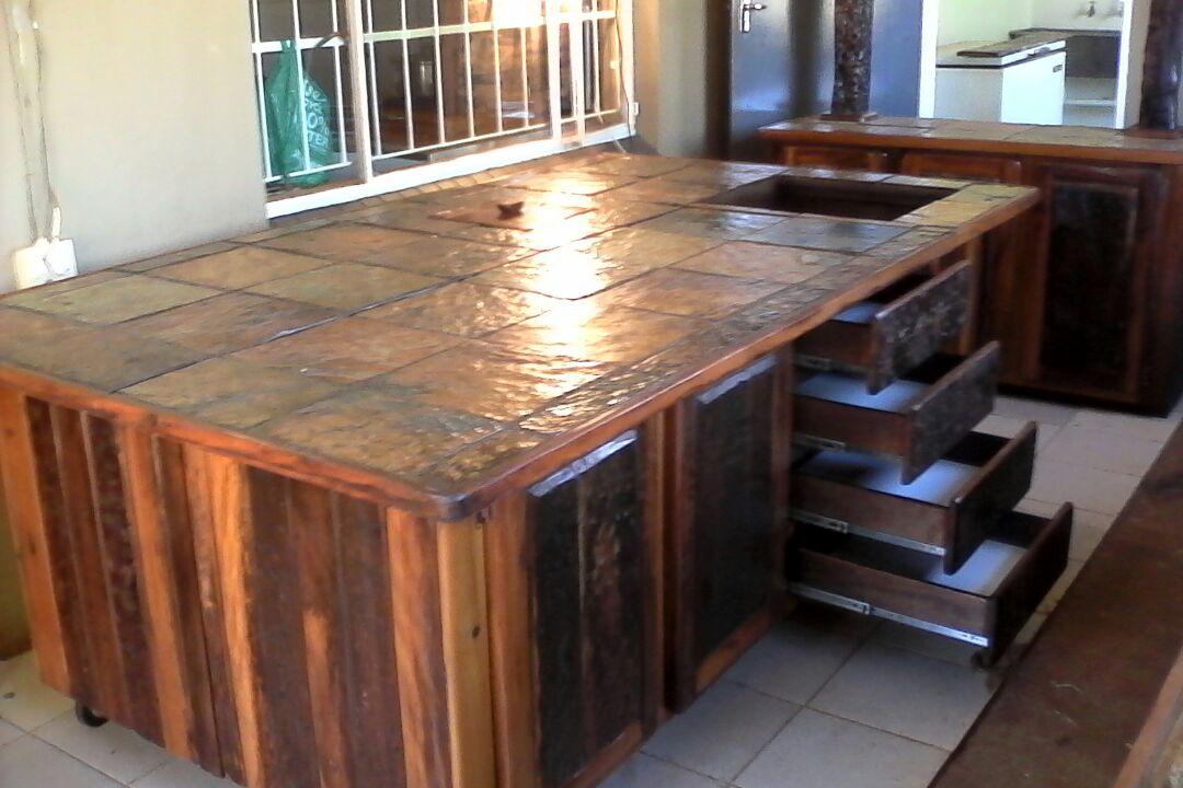 Kitchen island - work area