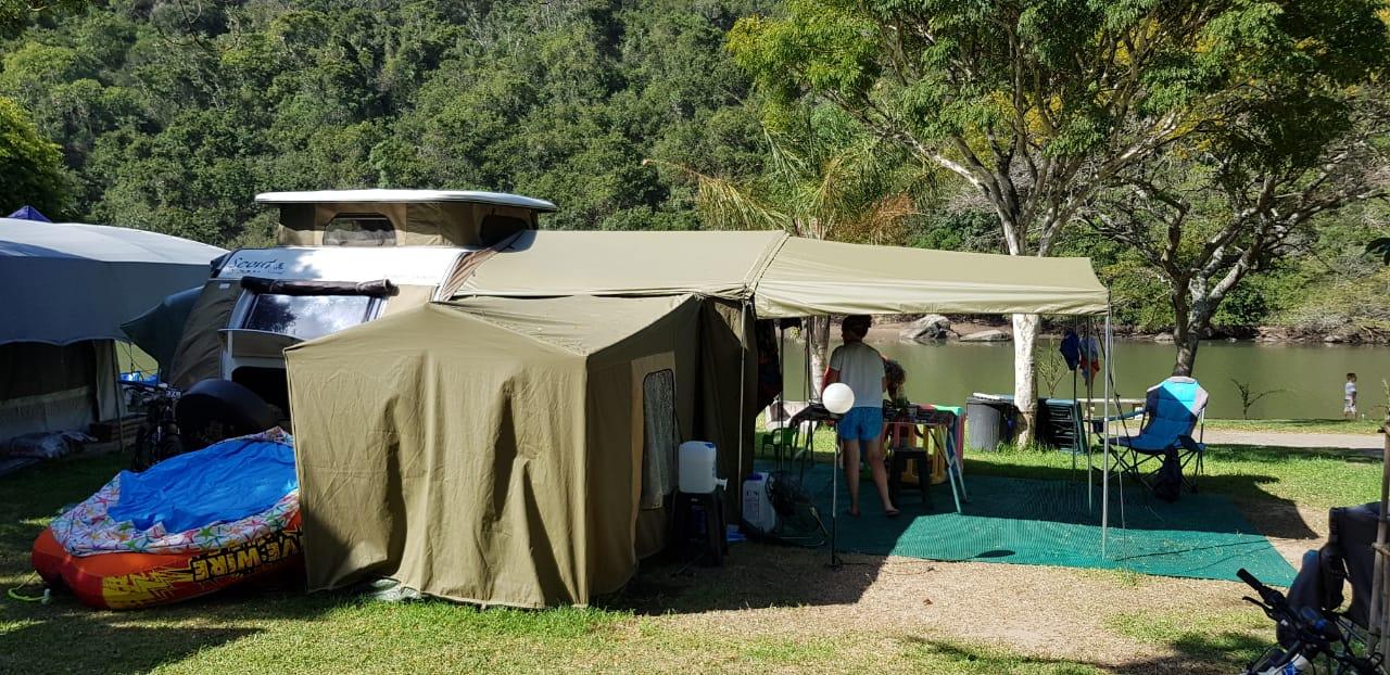 2012 scout nomad semi offroad caravan