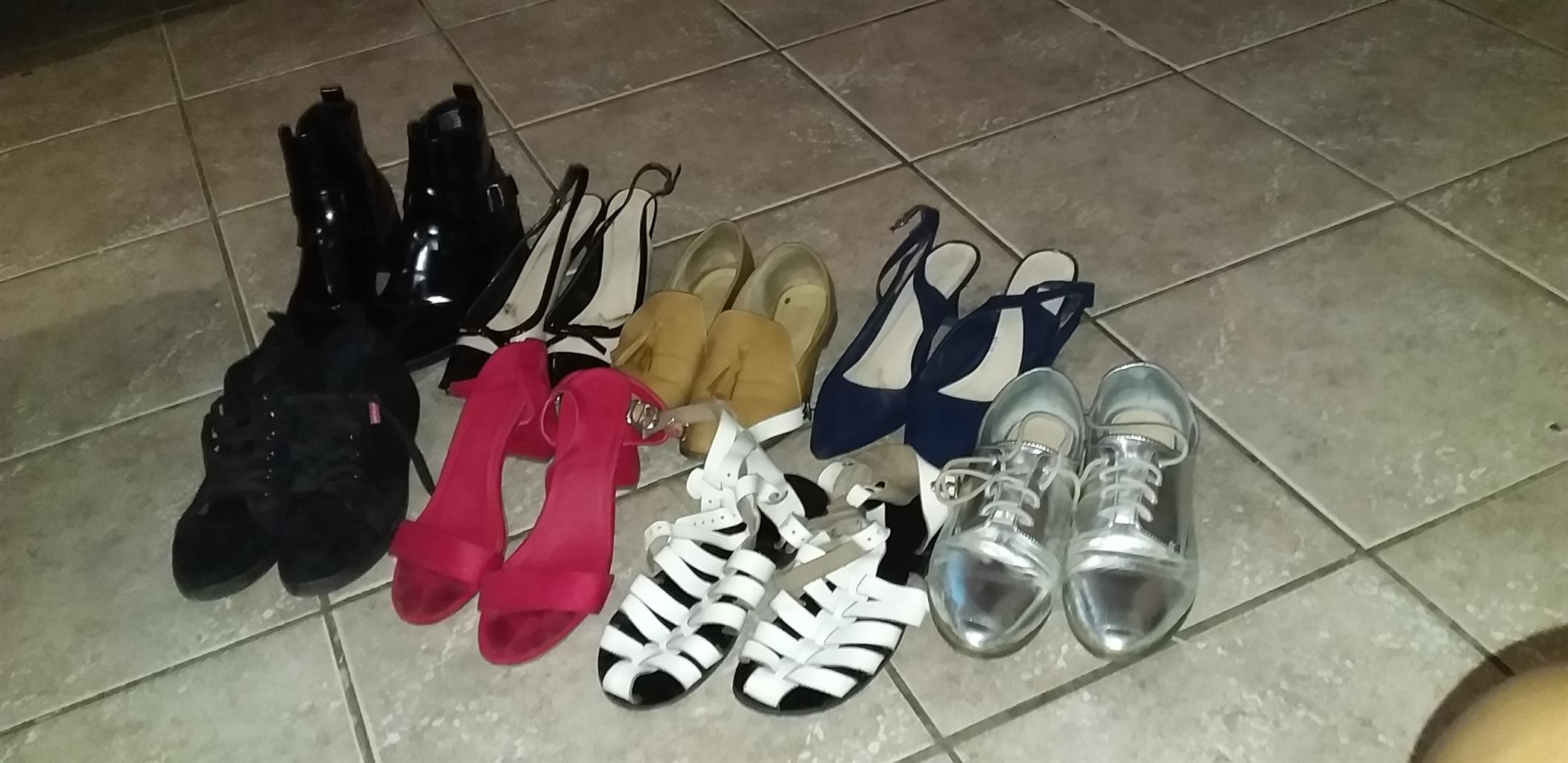 Used clothes and shoes