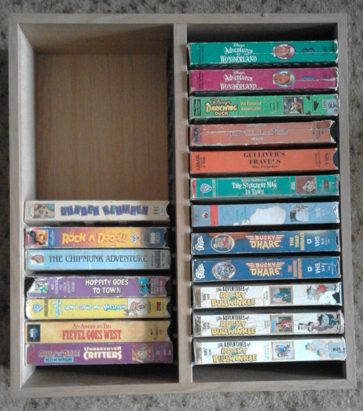 24 VC or 48 DVD Boxes Holder.