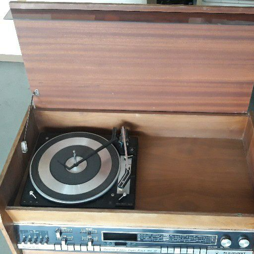 Vintage Blaupunkt Radio cassette  and turntable
