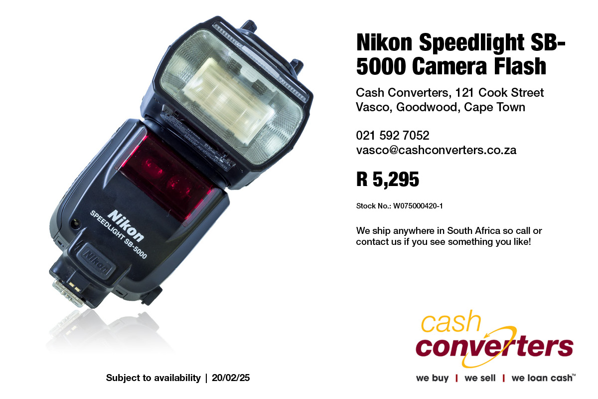 Nikon Speedlight SB-5000 Camera Flash