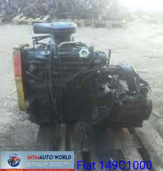FIAT UNO/FIORINO 1.5 149C1000 engines