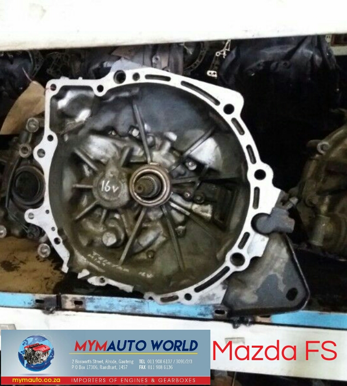 imported used MAZDA FS MANUAL gearbox Complete