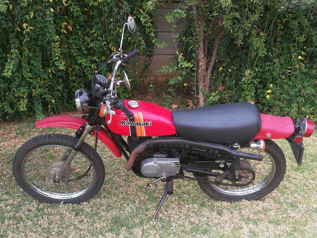 1973 Kawasaki KL