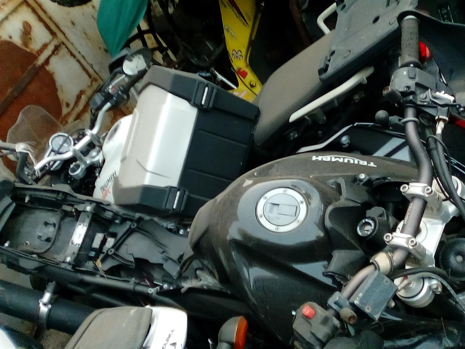 TRIUMPH STRIPPING FOR SPARES