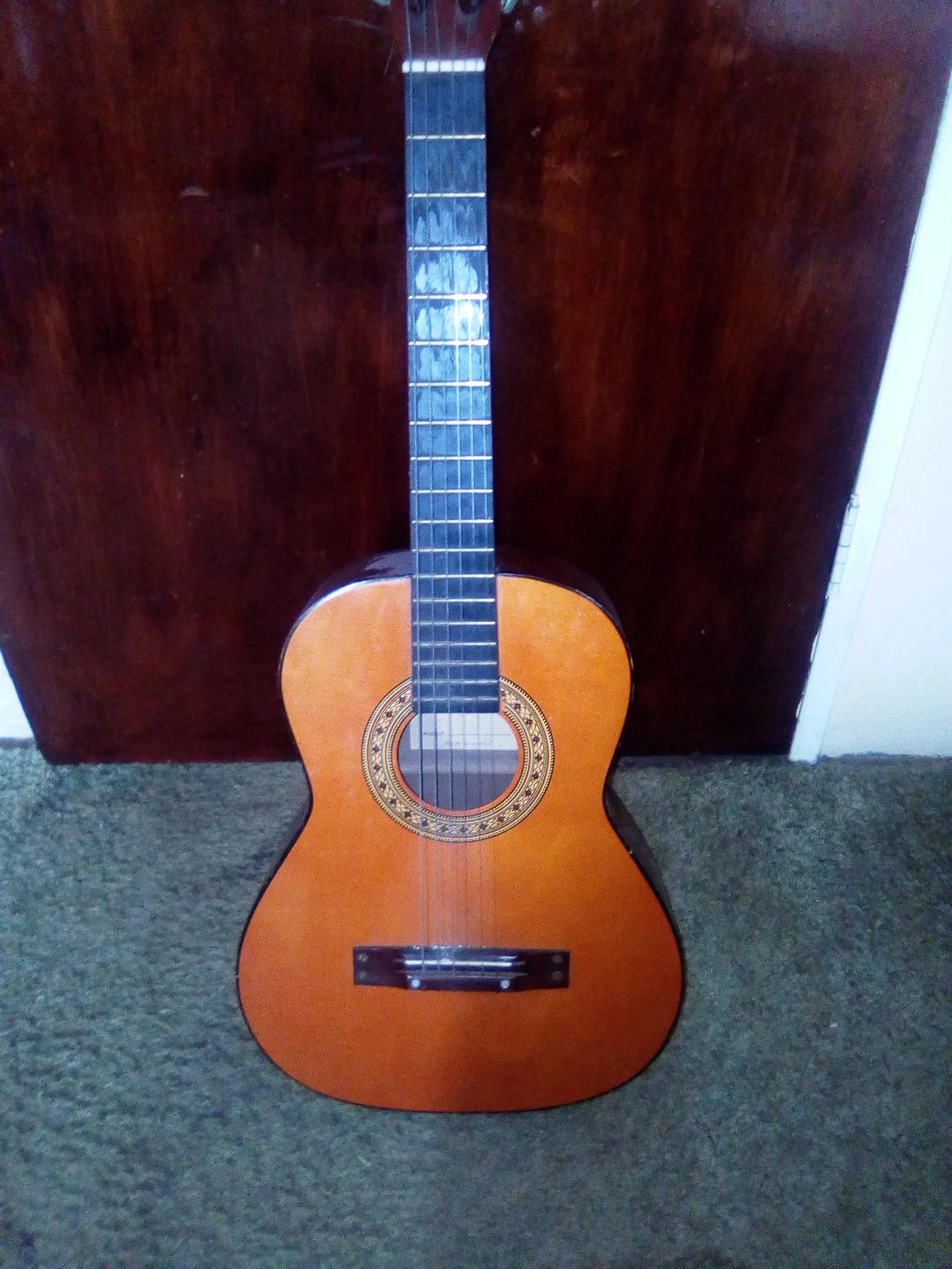Antique nylon string, classical guitar