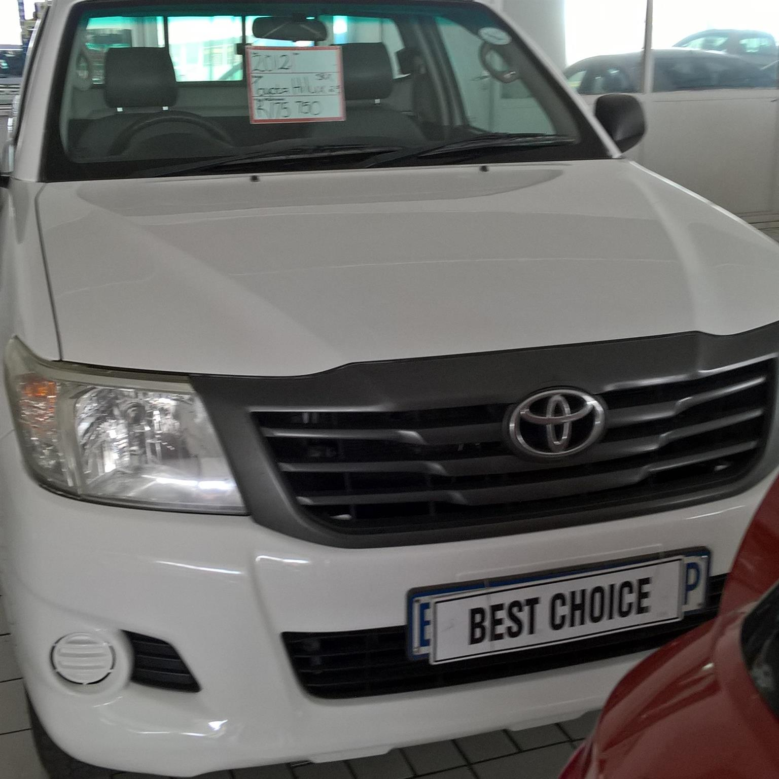 2011 Toyota Hilux single cab HILUX 2.4 GD 6 RB SRX P/U S/C