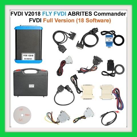 ECU / KEY PROGRAMMER Newest FVDI V2018 Original FLY FVDI ABRITES Commander Full Version