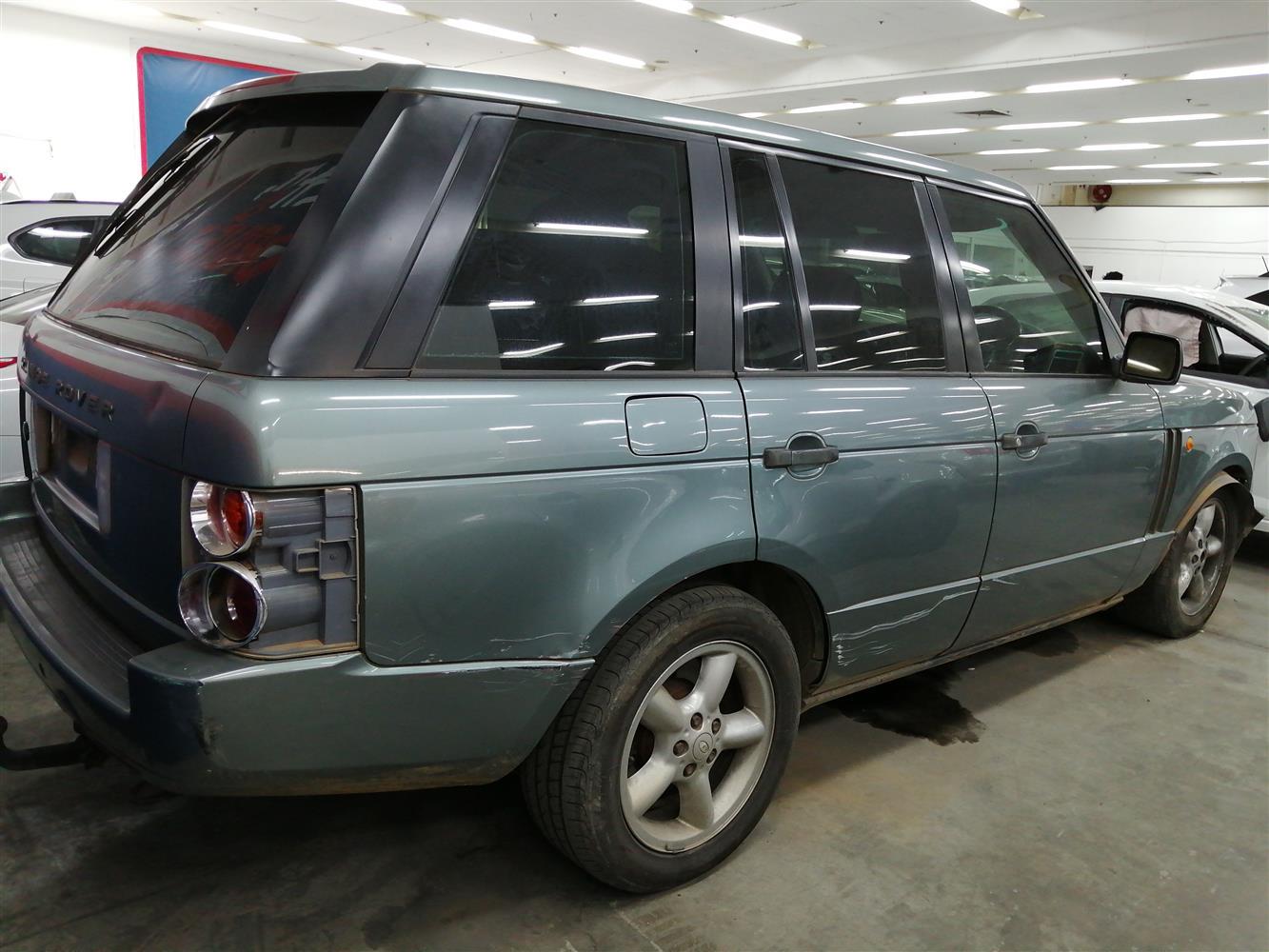 2003 Land Rover Range Rover Td6 HSE Code 2