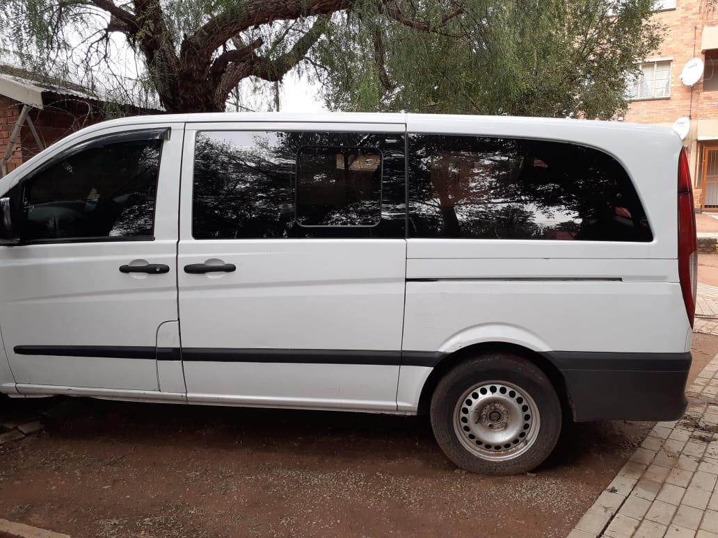 2006 Mercedes Benz Vito 115 CDI 2.2 crew bus XL