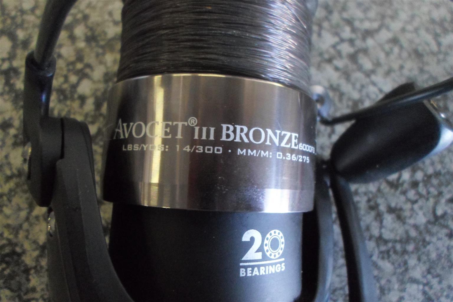 Mitchell Avocet lll Bronze 6000FS Reel