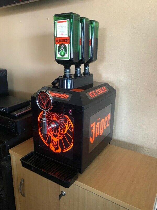 Jagermeister 3 Bottle Cooling Tap Machine.