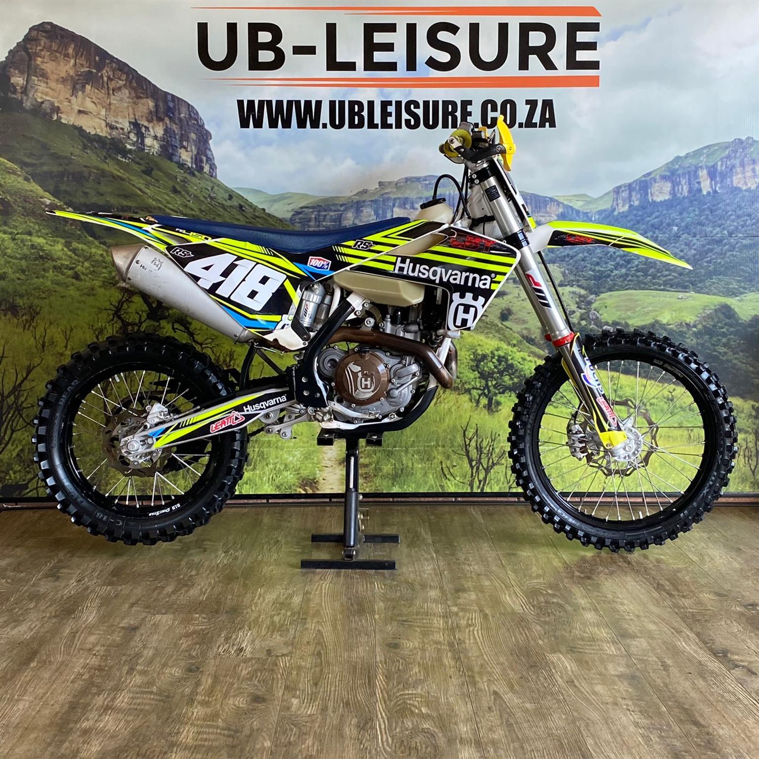 2018 HUSQVARNA FE 450 | UB LEISURE