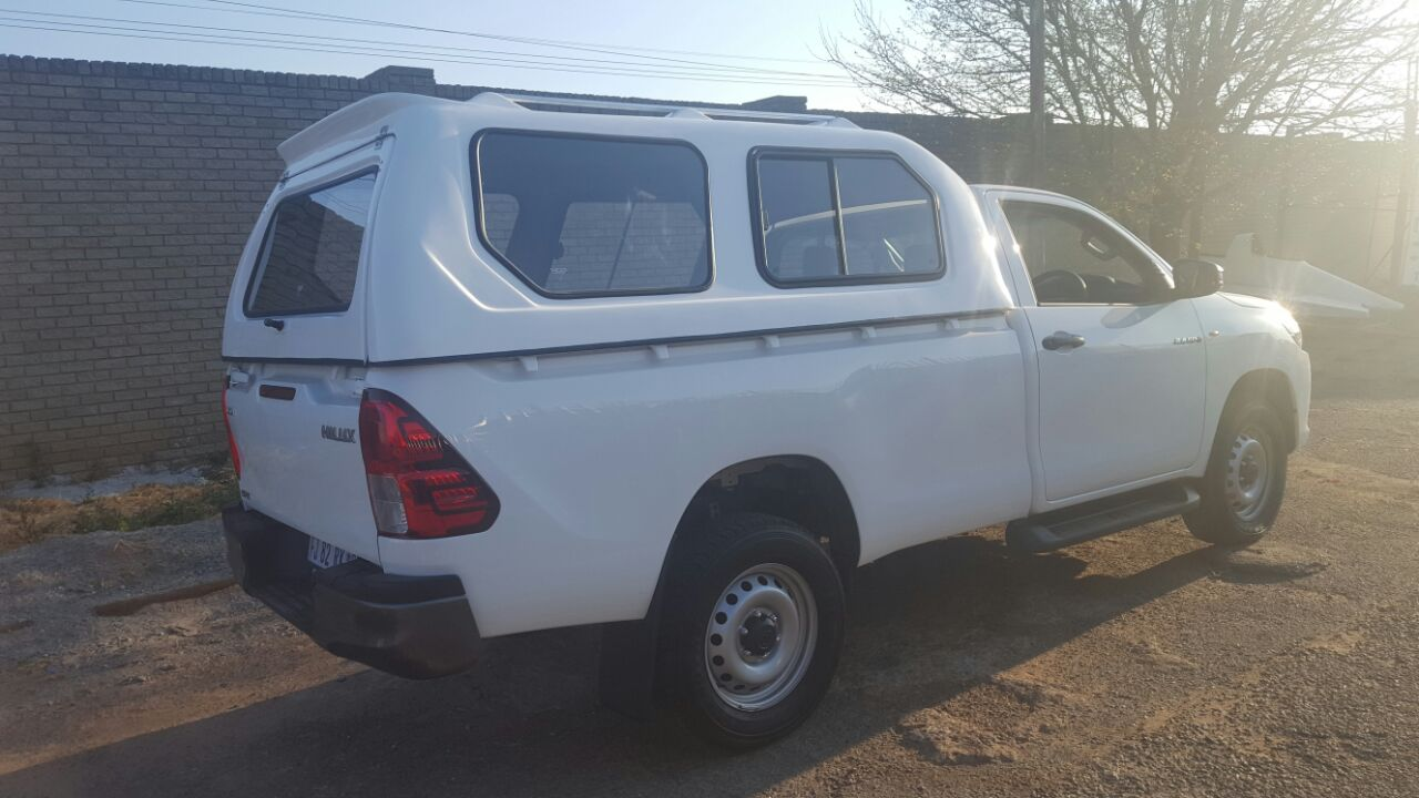 GC BRAND NEW TOYOTA HILUX GD6 HI-LINER WHITE CANOPY!!!
