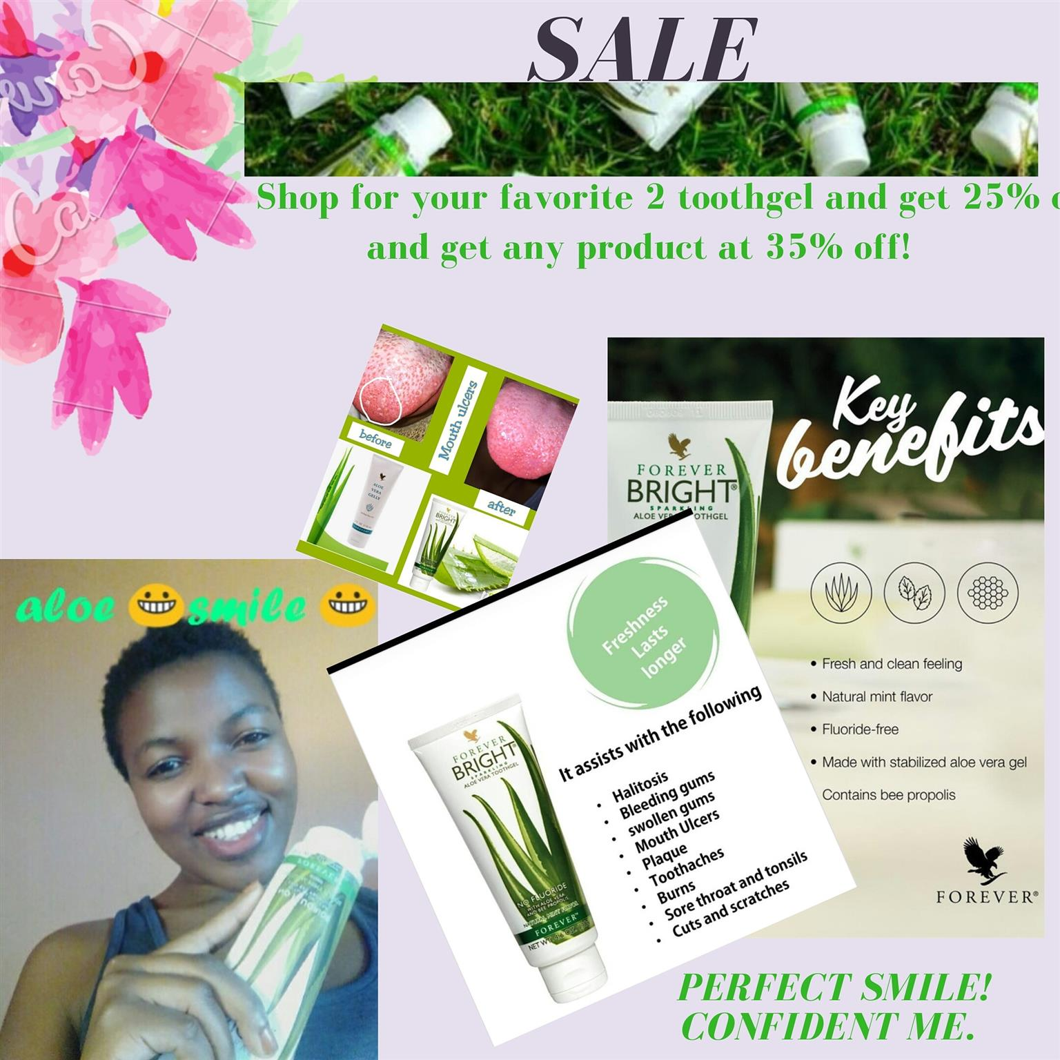 Forever living Bright toothgel special!