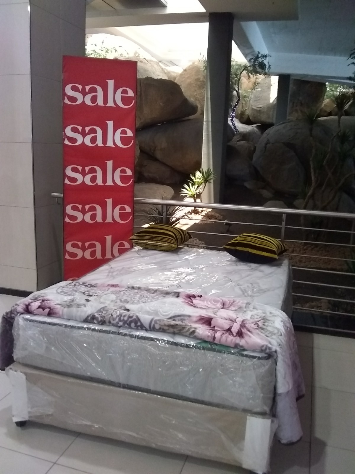 bamboo double bed for sale