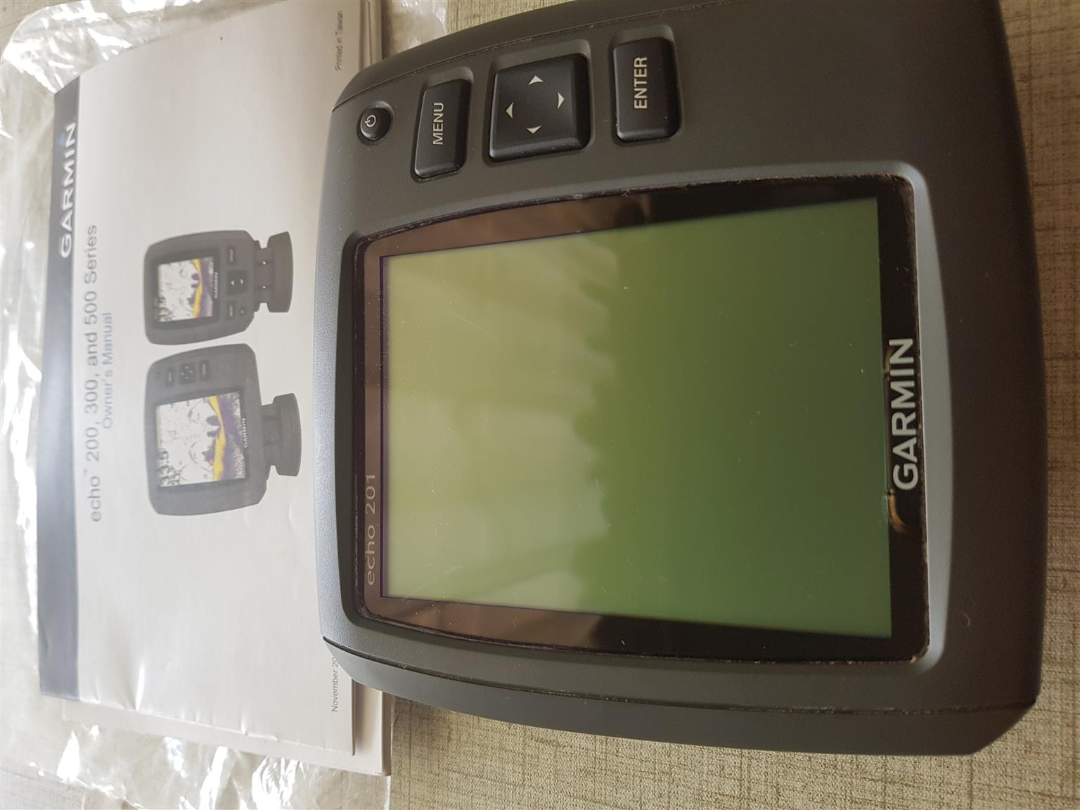 Garmin fish Finder echo 201