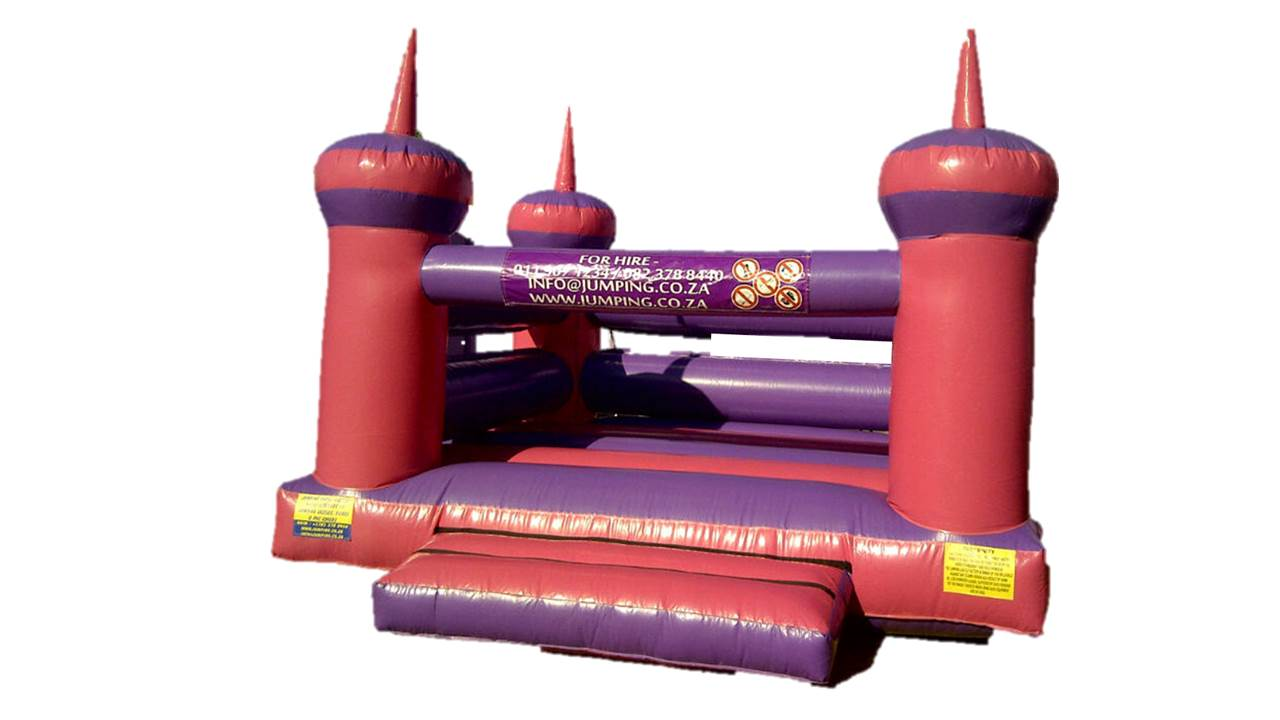New Jumping Castles from R6500.00.  Jumping Castle Factory.  Sales - Repairs - Rentals