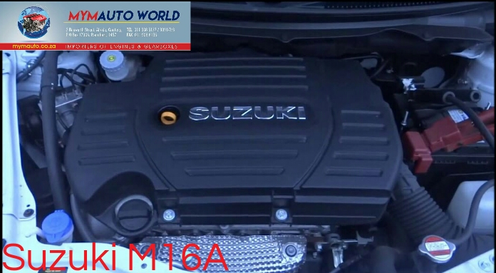 Imported used SUZUKI GRAND VITARA/SWIFT, M16A engine Complete
